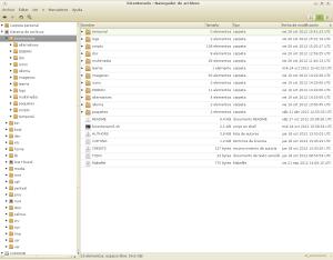 Estructura de Archivos del Linux Post Install – Script Bicentenario 5.0+0
