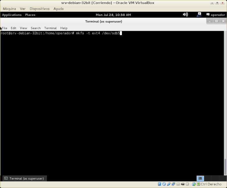 srv-debian-32bit [Corriendo] - Oracle VM VirtualBox_001