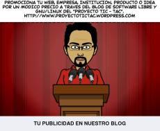PON TU PUBLICIDAD EN EL BLOG DEL PROYECTO TIC - TAC