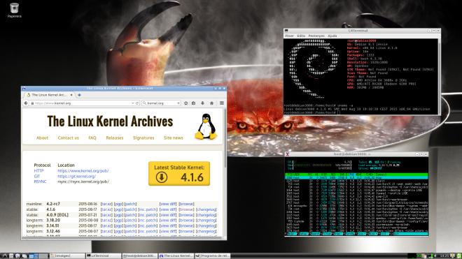 kernel 4.1.6 en Jessie
