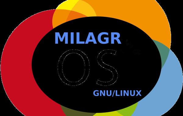 MilagrOS: Logo Oficial de la Distro