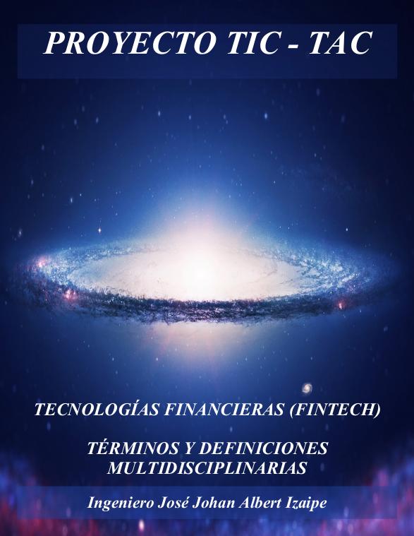 Portada del 1er Libro de FinTech