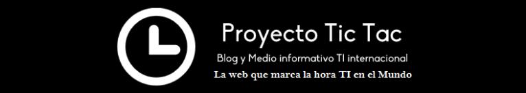 Banner oficial 2 del Proyecto Tic Tac - 2020