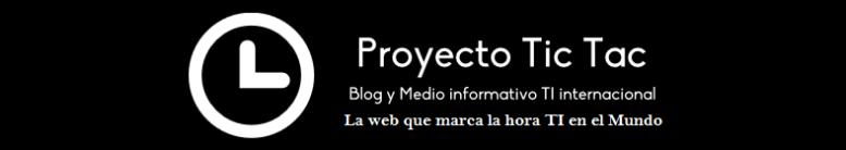 Banner oficial del Proyecto Tic Tac - 2020