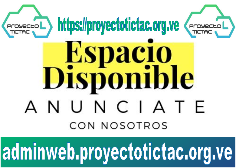 Espacio publicitario disponible - Horizontal