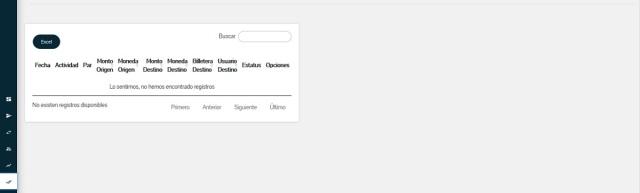 Firmar transacciones: Sexto módulo de la Plataforma web del Sistema PetroApp