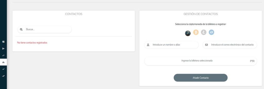 Contactos y Gestión de Contactos: Cuarto módulo de la Plataforma web del Sistema PetroApp
