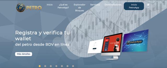 WEB DEL PETRO (PTR)