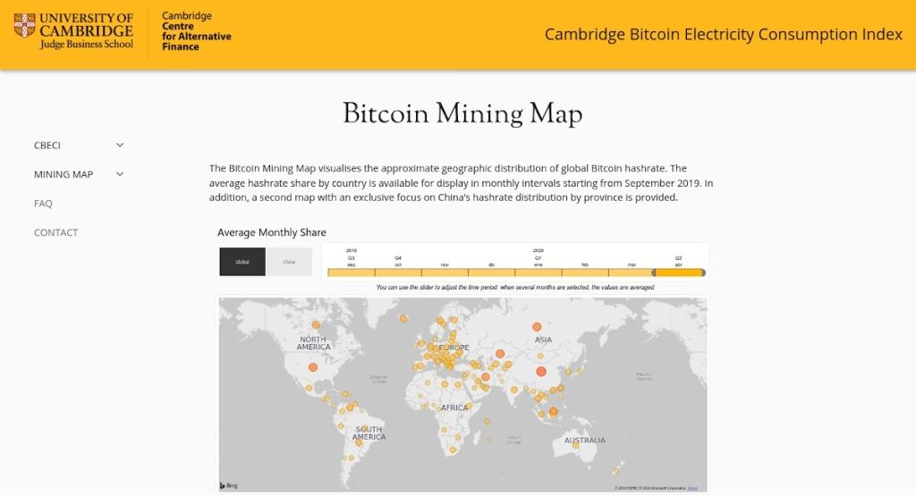 La nuova mappa dei prezzi minerari di Bitcoin mostra la redditività in tempo reale