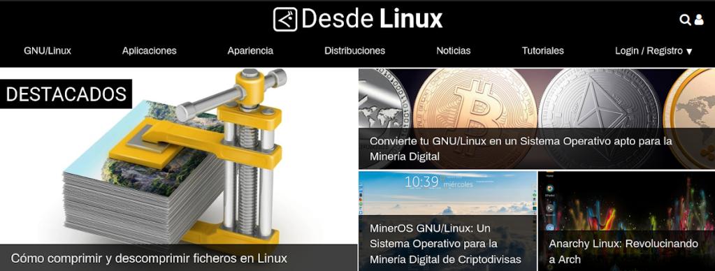 Blog: DesdeLinux - Usemos Linux para ser libres