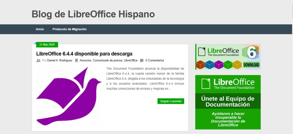 Blog: LibreOffice Hispano - Espacio común para toda la Comunidad Hispana