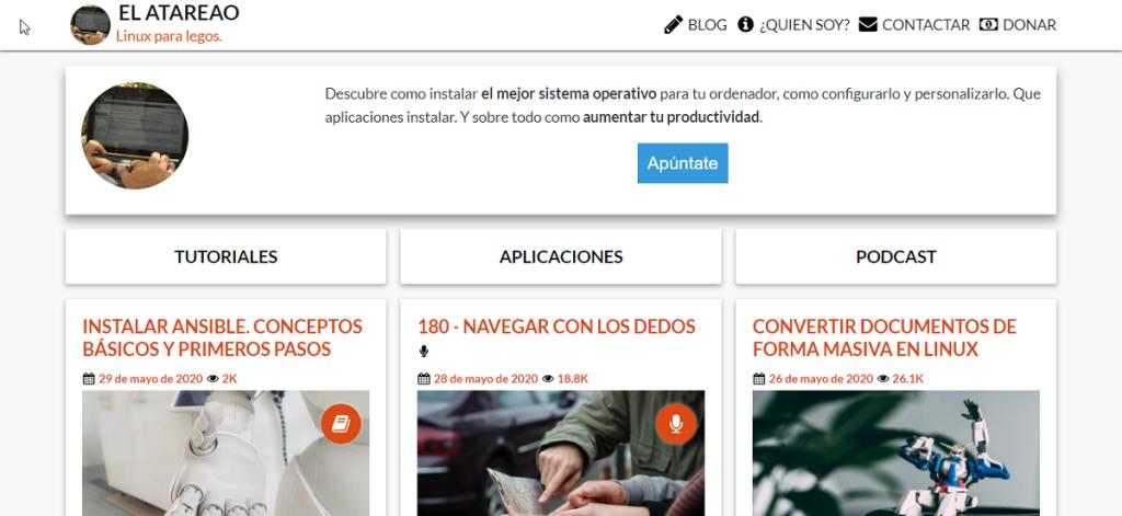 Blog: El Atareado - Linux para legos