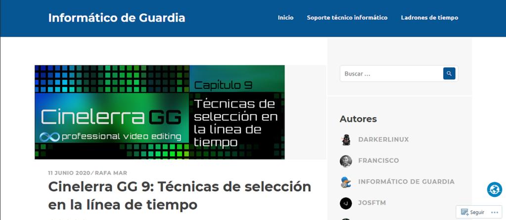 Blog: INFORMÁTICO DE GUARDIA   LINUX [ESPAÑA]