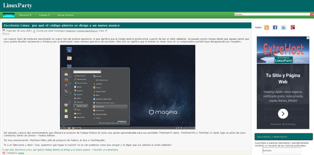 Blog: Linux Party - Noticias de Linux y tecnología