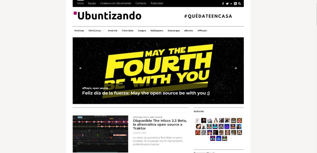 Blog: Ubuntizando - Linux, Ubuntu y otras cosillas geek