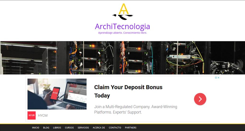 Blog: ArchiTecnologia - Aprendizaje abierto. Conocimiento libre.