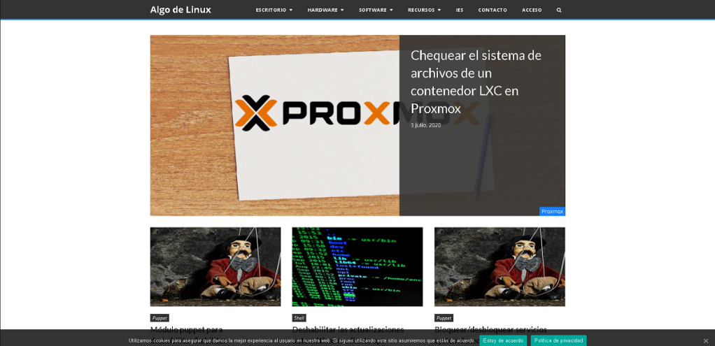 Blog: Algo de Linux - Linux, Debian, Ubuntu, Software Libre, Bash Scripts, Windows y Gadgets.
