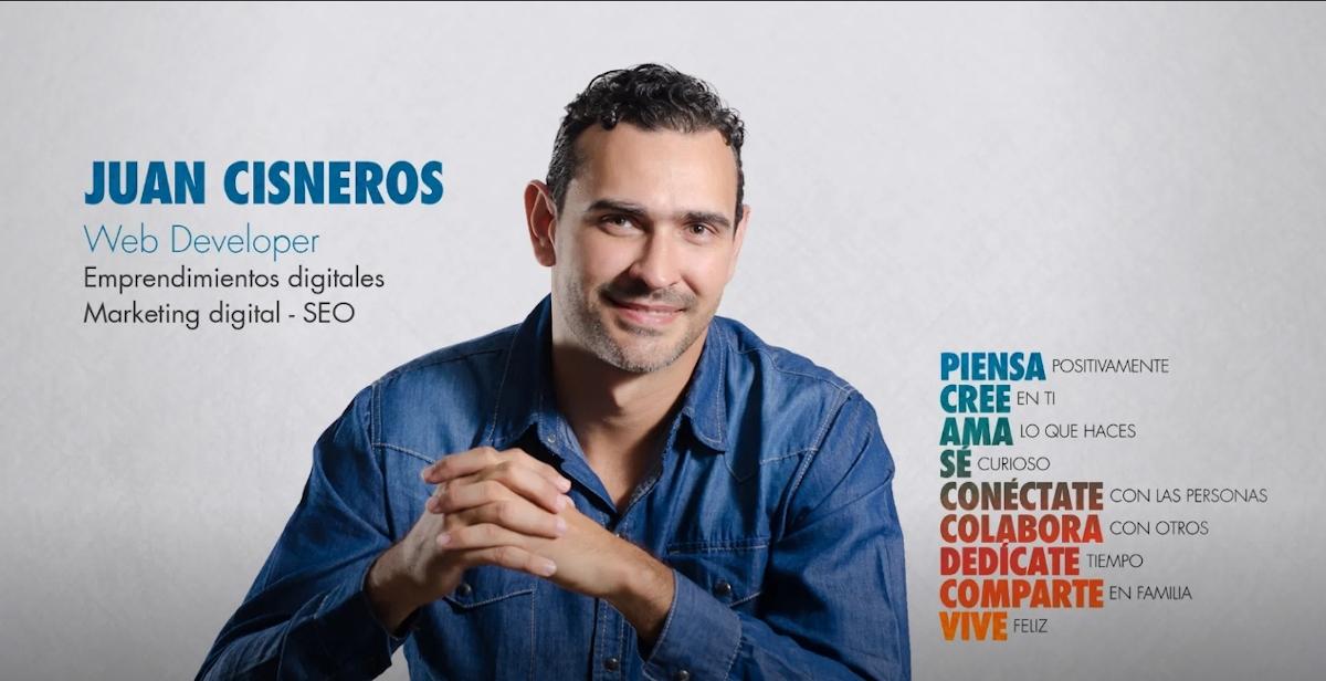 Juan Cisneros | Web Developer: Aliado Comercial desde el 01/10/2020.