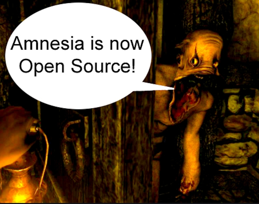 Posted on Posted on 23rd September 2020 by thomas in Amnesia: A Machine for Pigs, Amnesia: Collection, Amnesia: Justine, Amnesia: The Dark Descent, Announcement, Engine, HPL2 Amnesia is now open source!