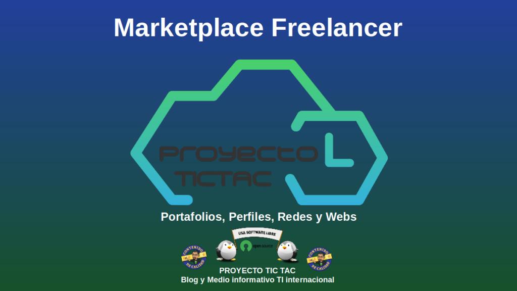 Marketplace Feelancer | Sección: Portafolios, Perfiles, Redes y Webs