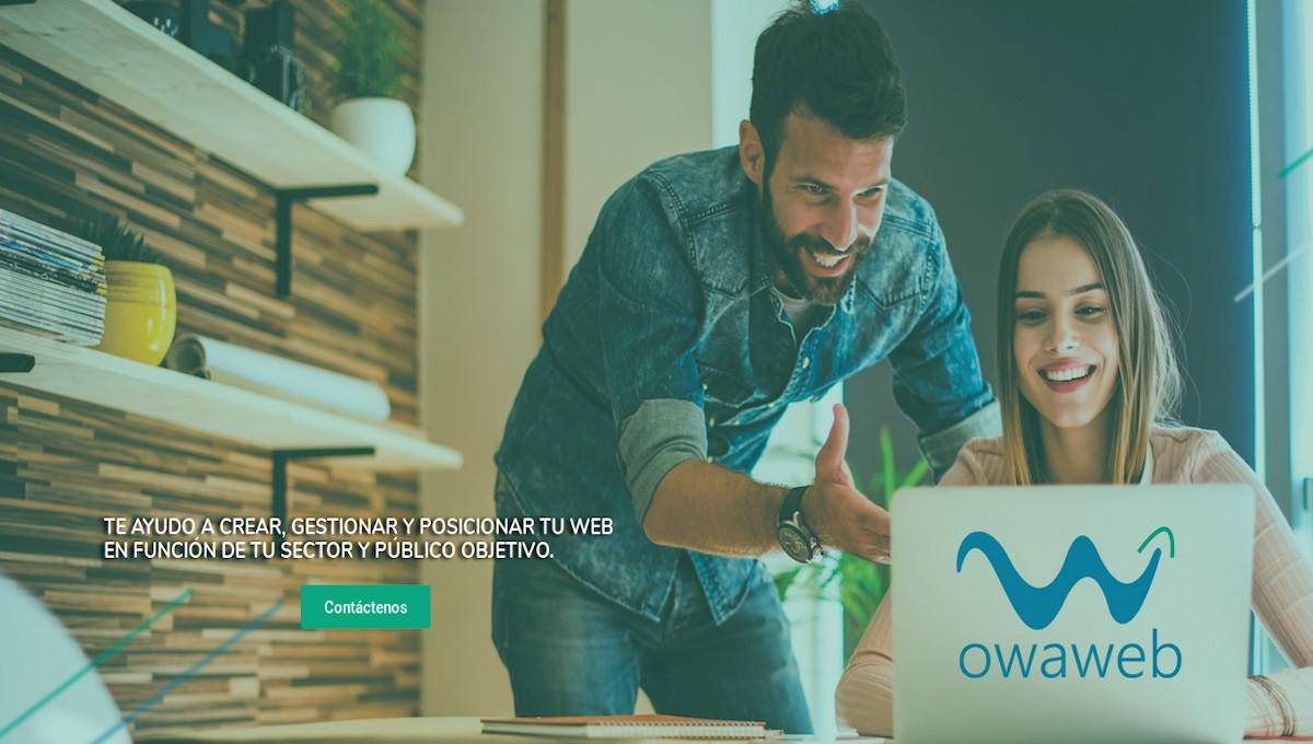 Owaweb - Diseños de Sitios web, Posicionamiento web, Email Marketing, y más.