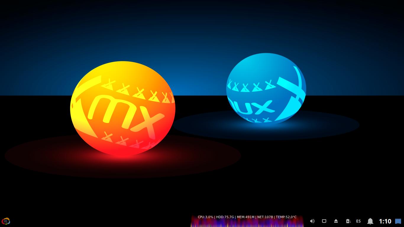 MilagrOS (MinerOS): Aspecto final y definitivo de la versión 2.2 - 3DE3.