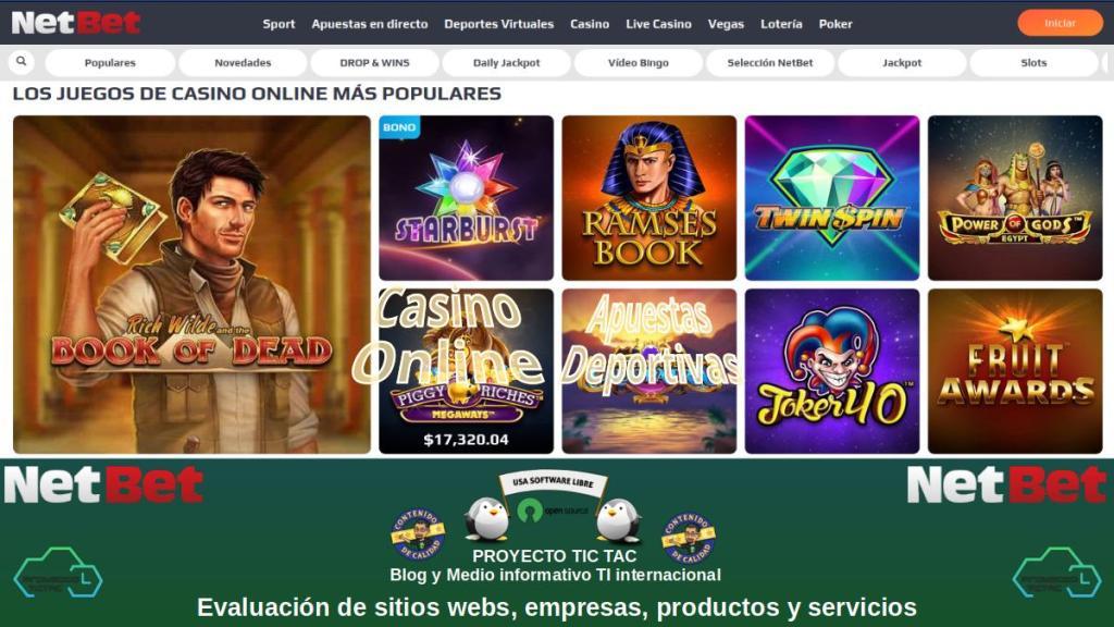 NetBet Casino: Casino Online | Juegos de Casino