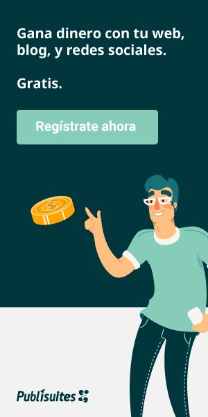 Bloguero: ¡Gana dinero registrándote y trabajando en Publisuites!