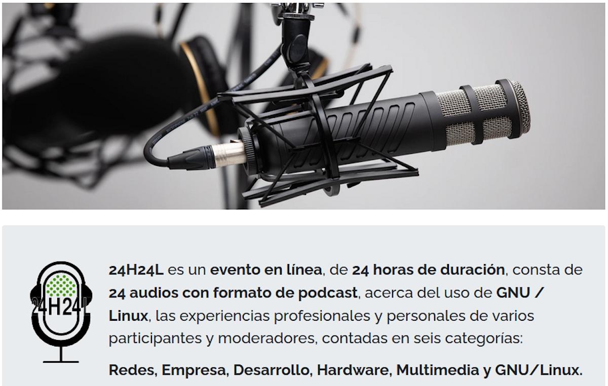 24H24L, 24 audios sobre GNU/Linux