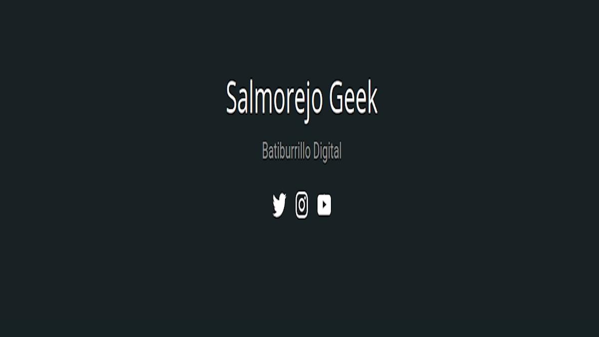SalmorejoGeek: Es una web que pretende ser, un sitio de encuentro para personas amantes de la tecnología y el buen humor en general.