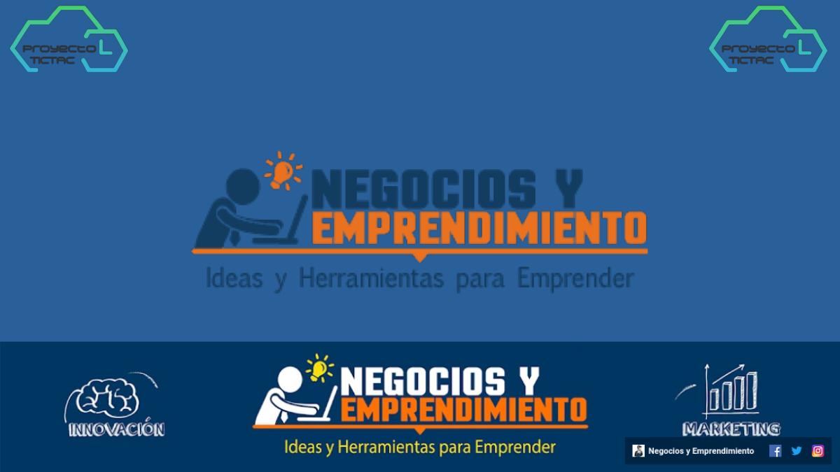 Canal de YouTube Negocios y Emprendimiento