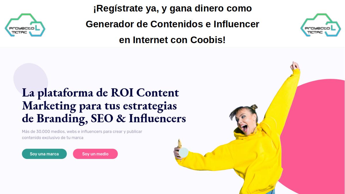 WebAdmin ¡Gana dinero registrándote y trabajando en Coobis!