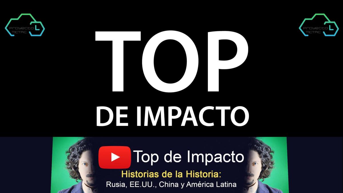 Top de Impacto: Canal de YouTube con videos de política, economía, emprendimiento y temas sociales desde una perspectiva imparcial.