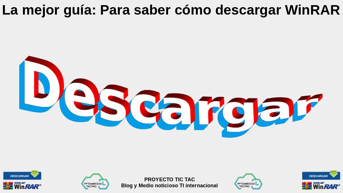 WinRAR Descargar