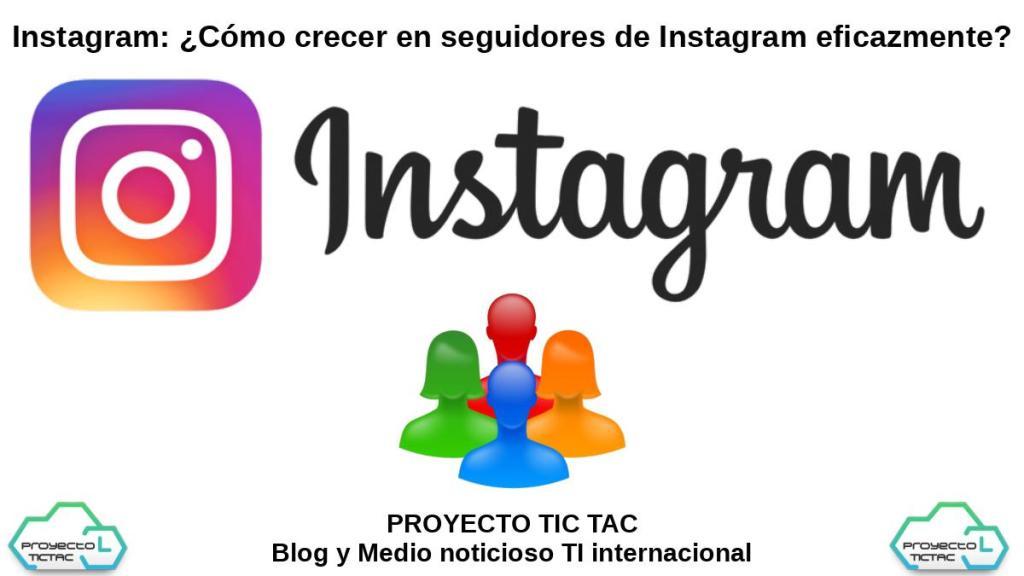 Instagram: Crecimiento de Seguidores